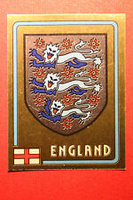 Panini Euro 84 ENGLAND BADGE n 237 with back VERY GOOD CONDITION!!