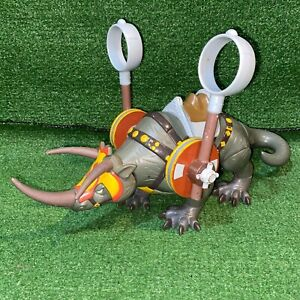 2005 Avatar the Last Airbender Action Figure Fire Nation Attack Rhino Toy