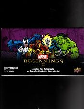Marvel Beginnings series 2  sealed Box
