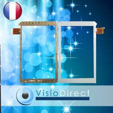 """Vitre ecran tactile pour Archos 101 Platinum 10"""" CN068FPC-V1 ZYD101-70V01 blanc"""