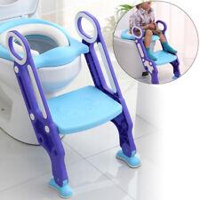 Kinder Toilettenleiter Toilettentrainer Töpfchen oder Leiter integriertem WCSitz