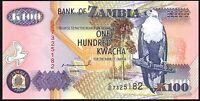 1992 Zambia 100 Kwacha Banknote * UNC * P-38a*