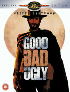 The Good, the Bad and the Ugly DVD (2004) Clint Eastwood, Leone (DIR) cert 18
