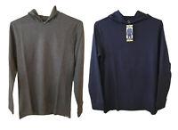Eddie Bauer men's thermal hoodie  L/S pullover