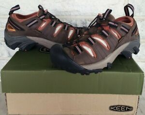 KEEN Mens Arroyo II Hiking Sandals Size 7 Black Olive Bombay Brown 1008419 $115