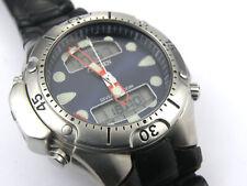Mens Citizen Promaster Aqualand Dive Computer Watch C500-Q02501