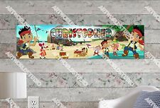 Personalized/Customized Jake and the Neverland Pirates Name Poster Art Banner