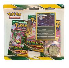 Pokémon - Evolving Skies SWSH 7 - 3 Booster Pack Blister - EN - NEU & OVP