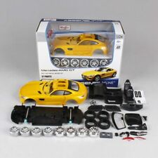 Maisto 1/24 Mercedes-Benz Amg GT Assembled Version Racing Car Model Yellow