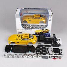 Maisto 1/24 Mercedes-Benz Amg GT Assembled Version Racing Car Model Yellow