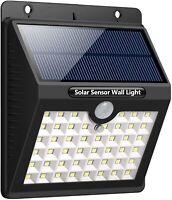 Outdoor Solar Motion Sensor Securiity Light, Shed, Fence- 46 LED Lights - LEC800