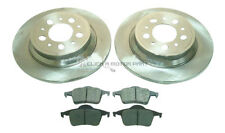 PEUGEOT 806 & FIAT ULYSSE 1995-2001 REAR 2 BRAKE DISCS AND PADS SET NEW
