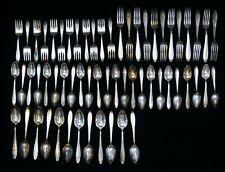 60 Pieces Wallace HOSTESS Silverplate Assorted Flatware 1835 B4810