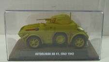 modello finito Autoblinda ab-41, 1/43, Atlas, Metallo, NUOVO