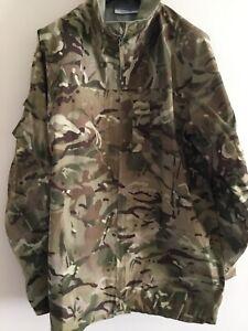 """British Forces MTP """"Goretex"""" Lightweight waterproof Jacket current issue  Mark 2"""
