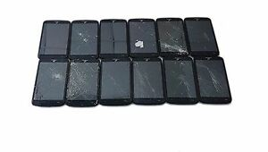12 Lot Alcatel A564C Tracfone Wireless Android Smartphone Touch Screen Used Part