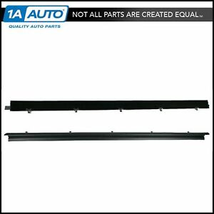 Outer Door Window Sweep Kit 2 Piece Pair for Chevy GMC Jimmy S10 S15 Pickup