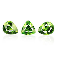 1.12ct 100% Natural earth mined extremely rare aaa green color demantoid garnet