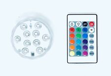 RGB LED Light Puck with Remote | Color Changing | Waterproof