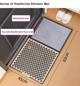 Commercial and Residential kanglifen 3D Fashion Disinfection Doormat floor mat