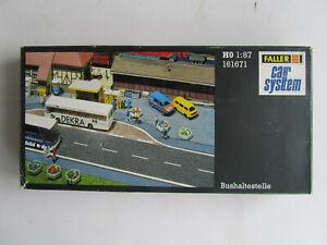 FALLER Car System 161671 - Bushaltestelle in OVP