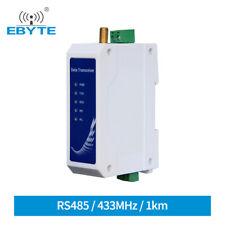 Rs485 Wireless Radio Modem 433mhz Data Transceiver 1km Modbus Gfsk Modulation