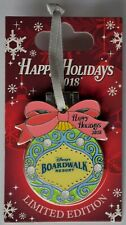 Disney Parks Limited Edition Happy Holidays 2018 Broadwalk Resort Pin New
