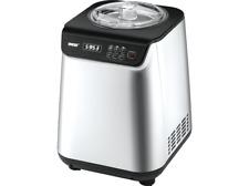 UNOLD Uno 48825 Eismaschine 135 Watt Silber/Schwarz