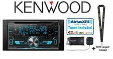 Kenwood eXcelon Dpx793Bh Cd Receiver w/ SiriusXm Sxv300Kv1 Satellite Radio Tuner
