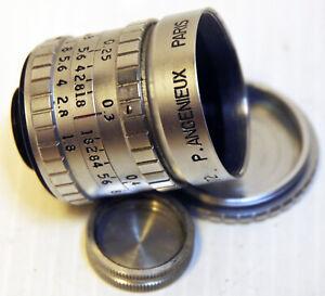 "Objectif  "" ANGENIEUX"" - MOUNT "" D "" - 8 mm - F 12,5  mm  -TBE"