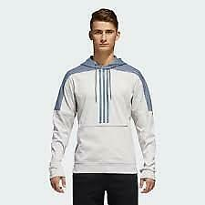 ADIDAS Mens Sweater Hoodie pullover sweat shirt size L Large  CV7556 $55 NWT