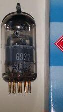 1x  Röhre 6922 E88CC Telefunken <> Raute Goldpins b68-1 E88CC