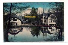 1915 - Meixmühle bei Pillnitz, Gondelteich - gelaufen nach Klotzsche
