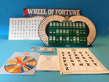 WHEEL OF FORTUNE FIRST EDITION 1985 GAME PRESSMAN MERV GRIFFIN VTG COMPLETE VG+