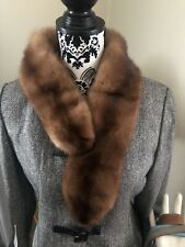 Vintage 1960's Mink Fur Stole by Vincent of Indianapolis ESATE FIND 💕💕