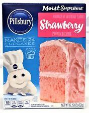 Pillsbury Moist Supreme Strawberry Cake Mix 15.25 oz