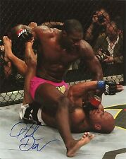 PHIL DAVIS SIGNED 8X10 PHOTO PROOF COA AUTOGRAPHED UFC 4