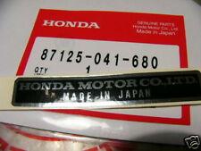 Honda CB 250 350 450 500 750 Four Aufkleber Rahmen Plate name, frame