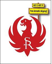 Ruger Sturm Bird Logo Fire Arms Got Gun Ammo Decal Sticker Made in America