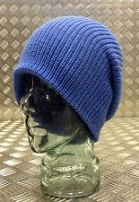 Blue Sky/Blu Chiaro Lavorato a Maglia Cappello Beanie/Guarda Cap/Cappello Lanoso-Taglia unica NUOVO