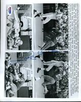 Johnny Unitas Signed Psa/dna Wire Photo Authentic Autograph