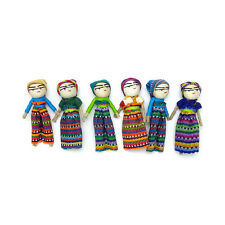 "One (1) piece 3"" Guatemalan Wish Doll / Worry Doll"