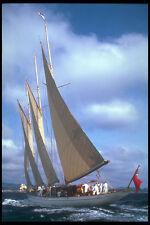 257073 St Tropez Yacht Race Three masted Ketch UK A4 Photo Print