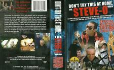 Don't Try This At Home Steve-0 Special Collector's Edition 3 DVD Lot Set NEW