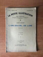 LA PETITE ILLUSTRATION revue hebdomadaire n° 762-roman n° 358 : André A