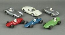 Vintage 1960s Wiking Germany 6 Pc Race Car Porsche Vanwall Lotus Mercedes Cooper