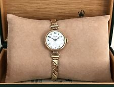 Beautiful Vintage ROLEX ROLCO 9ct Solid Rose Gold Ladies Watch - Working!