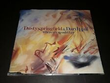 Pet Shop Boys Rare CD Dusty Springfield & Daryl Hall ‎– Wherever Would I Be