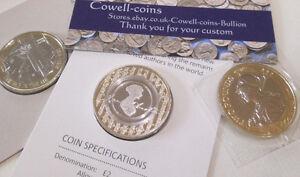 2017 ROYAL MINT BUnc £2 Coin Aviation,Jane Austen,Britannia ISSAC NEWTON CANUTE
