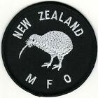 "3 1/8"" Black Kiwi New Zealand MFO Multinational Force  Observers Patch Iron on"